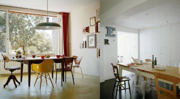 dining table with different chairs download