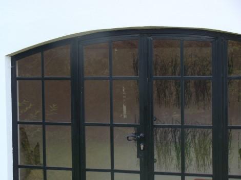 detail door opening