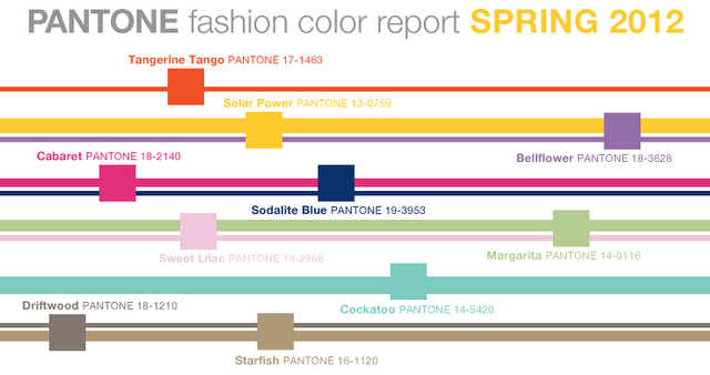 pantone color spring